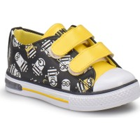 Minions Erve Siyah Erkek Çocuk Ayakkabı