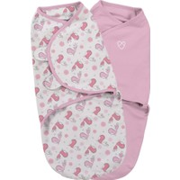 Summer Infant Swaddle Me Kundak 2'li Paket Tweet Tweet Girl