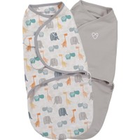 Summer Infant Swaddle Me Kundak 2'li Paket Bohemian Jungle