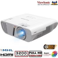 ViewSonic PJD7828HDL 1920x1080 FULL HD 3200 Ansilümen 22000:1 HDMI 3D Projeksiyon Cihazı