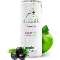 Aspire Elma & Acai Aromalı Gazlı İçecek Tekli 250 ml