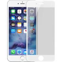 Baseus iPhone 7 3D Tam Ekran Kaplayan Gizli Ekran Koruyucu - Beyaz