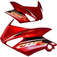Motospartan Depo Grenajı Kırmızı (Takım) Cbf 150