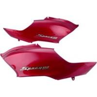 Motospartan Sele Altı Grenaj Sol / Sağ Kırmızı Honda Spacy 110