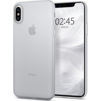 Spigen Apple iPhone X Kılıf Air Skin (0.3 mm) Ultra İnce Soft Clear - 057CS22115