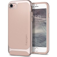 Spigen Apple iPhone 8 - iPhone 7 Kılıf Neo Hybrid Herringbone Pale Dogwood - 054CS22202