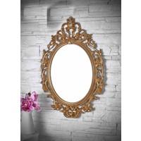Carat Polyester Ayna Gold Renk 80CMx60CM