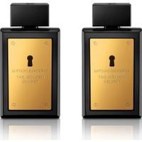 Antonio Banderas Golden Secret Edt 100 Ml+Antonio Banderas Golden Secret Edt 100 Ml 2 li Set