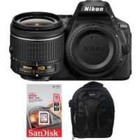 Nikon D5600 + 18-55 Lens + Hafıza Kartı + Eye Sırt Çantası