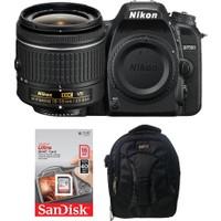 Nikon D7500 + 18-55 Lens + Hafıza Kartı + Eye Sırt Çantası