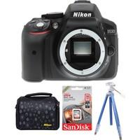Nikon D5300 Body + Hafıza Kartı + Çanta + Tripod