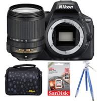 Nikon D5500 + 18-140 Lens + Hafıza Kartı + Çanta + Tripod
