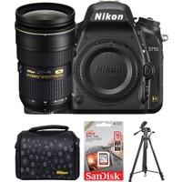 Nikon D750 + 24-70 Lens + Hafıza Kartı + Çanta + Tripod