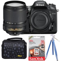 Nikon D7200 + 18-140 Lens + Hafıza Kartı + Çanta + Tripod