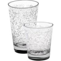 Joy Glass 12 Parça Şal Desen Su Ve Meşrubat Takımı P42875Sdb & P42877B