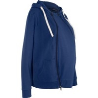 Bpc Bonprix Collection Mavi Bebek Koruma Detaylı Sweat Ceket
