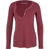 Bpc Bonprix Collection Kadın Kırmızı Emzirme Özellikli Bluz
