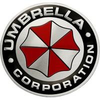 Solfera Aluminyum Resident Evil Umbrella Corp. Otomobil Sticker Cs038
