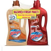 Bingo Ahşap Sandal Ağacı 1 l + Bingo Fresh Lovely 1 l Kazançlı Fırsat Paketi