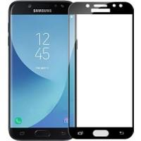Case 4U Samsung Galaxy J7 Pro Tam Kapatan Cam Ekran Koruyucu Siyah