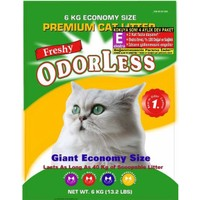 Freshy Odorless Silika 4 Aylık Kedi Kumu Ekstra Regular E 6 kg