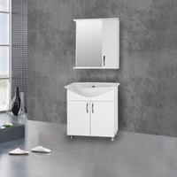 Hepsiburada Home Saydam Klasik 55 cm Mdf Banyo Dolabı Beyaz