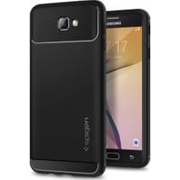 Spigen Samsung Galaxy J7 Prime - Galaxy On7 Prime Kılıf Rugged Armor Black - 570CS21002