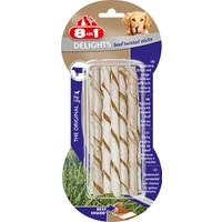 8 in 1 Delights Beef Twisted Sticks - Biftekli Köpek Ödülü 55 gr