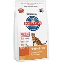 Hills Adult Optimal Care Tavuklu Yetişkin Kedi Mamasi 15 Kg