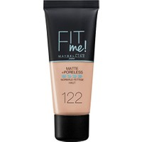Maybelline Fit Me Matte & Poreless Foundation 30 Ml 122 Creamy Beige