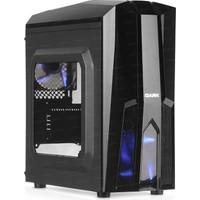 Dark F50 1 x USB 3.0 2 x USB 2.0 2x12cm Ultra Bright 33x Mavi Led Fanlı Pencereli Mid-Tower Siyah Oyuncu Kasası (DKCHF50)