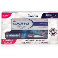 Ipana 3 Boyutlu Beyazlık Luxe Diş Macunu Perfection 75 ml (Oral-B ProFlex Diş Fırçası Hediyeli!)
