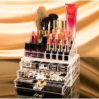 Akrilik Kozmetik Makyaj Düzenleyici Organizer LN687