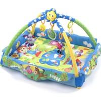 Playgro 1822147 Mutlu Çiftlik Işıklı Ve Sesli Bebek Oyun Halısı