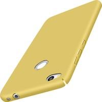 Microcase Huawei P9 Lite 2017 Luxury Sert Köşeli Rubber + Tempered Cam