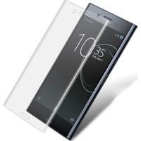 Microcase Sony Xperia Xa1 Full Ön Kaplama Ekran Koruma Film