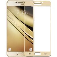 Case Man Samsung C5 3D Tam Kaplayan Ekran Koruma Seti + Cep Bakım Kiti