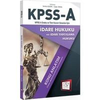 657 Yayınevi 2018 Kpss A Grubu İdare Hukuku Konu Anlatım