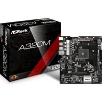 ASRock A320M-DGS AMD A320 AM4 Soket DDR4 3200MHz+(OC) Ultra M.2,USB 3.1 Gen 1 Micro-ATX Anakart - ASRA320M-DGS