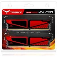 Team T-Force Vulcan 8GB(4GBx2) DDR4 2400MHz Gaming Soğutuculu Ram Bellek (TM4TVUL240042RD)