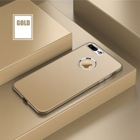 Case 4U Apple iPhone 6 Plus - 6S Plus Silikon Kılıf Luxury Altın