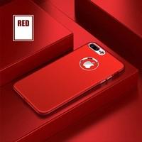 Case 4U Apple iPhone 6 - 6S Silikon Kılıf Luxury Kırmızı