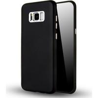 Case 4U Samsung Galaxy S8 Plus Silikon Kılıf Luxury Siyah