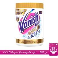 Vanish Kosla Leke Çıkarıcı Gold Toz 800 gr Beyazlar için