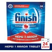 Finish Powerball Hepsi 1 Arada Bulaşık Makinesi Deterjanı 24 Tablet