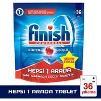 Finish Powerball Hepsi 1 Arada Bulaşık Makinesi Deterjanı 36 Tablet