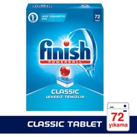 Finish Powerball Classic Bulaşık Makinesi Deterjanı 72 Tablet