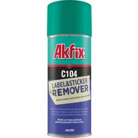 Akfix C104 Etiket ve Sticker Sökücü Sprey 200 ml