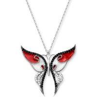 Modacım Güneşin Kızı Kırmızı Kelebek Kolye