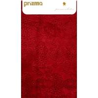 Prizma 2`li Banyo Paspas Takımı - Çiçek Kırmızı